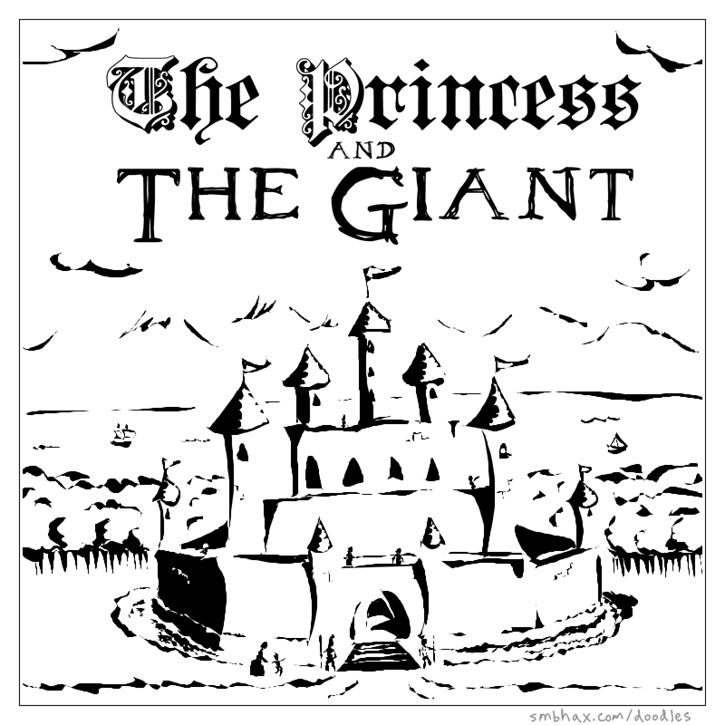 The Princess and the Giant - Page 1